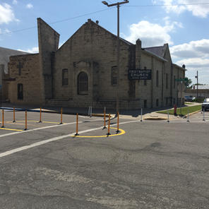 7th & Jefferson Pedestrian Island - Junction City