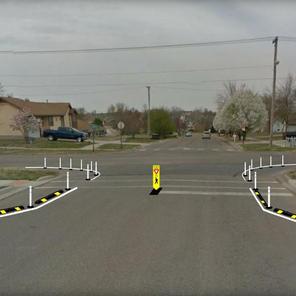 Semi-Permanent Curb Extensions - Junction City