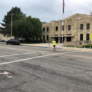 Jefferson St. Mid-Block Crossing - Junction City