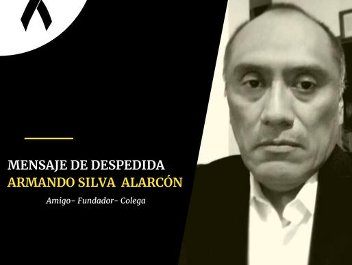 Mensaje de despedida a Armando Silva