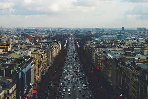 Champs Elysees Avenue - COMMERCIAL LICENSE