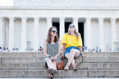 Lincoln Memorial Steps - COMMERCIAL LICENSE