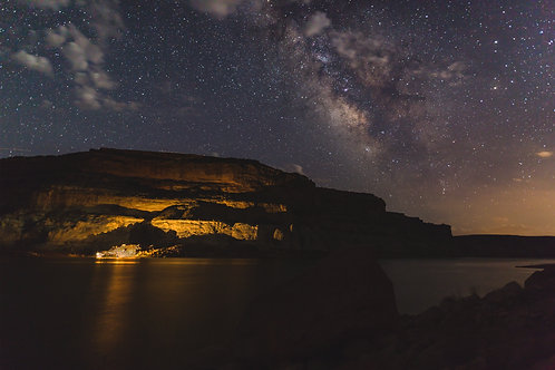 Lake Powell Milky Way - COMMERCIAL LICENSE