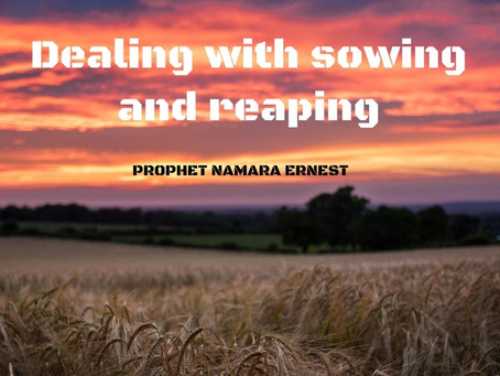 Dealing with sowing and reaping