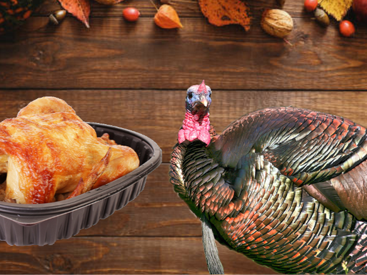 Oped from a turkey: Chicken tastes delicious and is the perfect choice for your Thanksgiving dinner