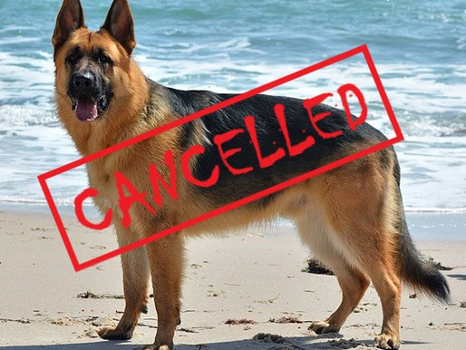 What's Cancelled Wednesday 9/23/20