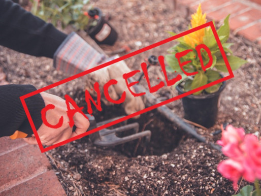 What's Cancelled Wednesday 9/9/20