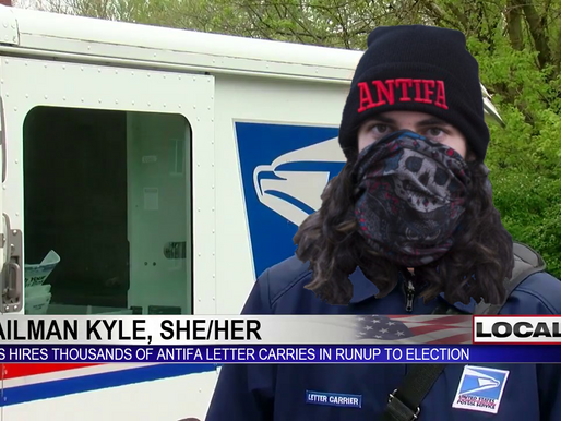 USPS hires thousands of Antifa in preparation for election