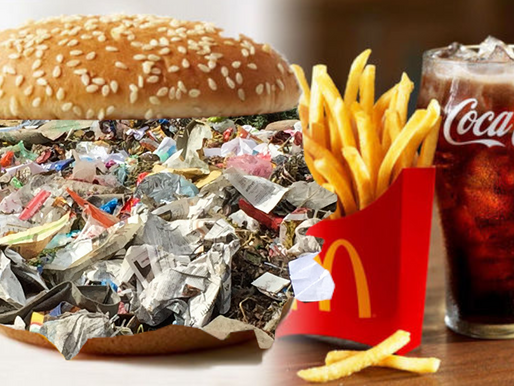 McDonald's introduces McTrash Burger made From Actual Garbage