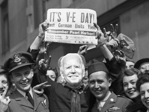 Biden gives speech declaring victory in Europe