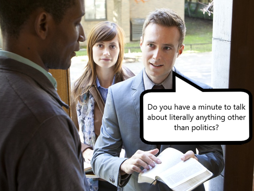 Jehovah's Witnesses see surge in conversions as people beg to talk about anything but politics