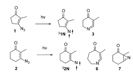 Exciting results! DeVonna publishes her studies of cyclic vinyl azides in J. Org. Chem.