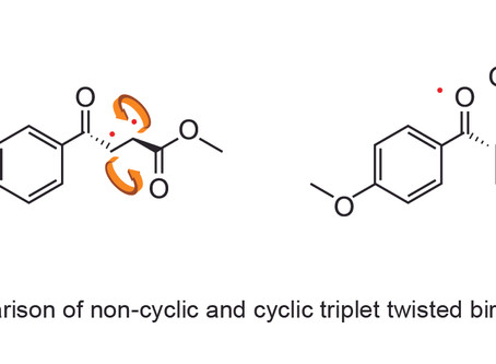 Sujan, Upul, Raj, Nayera, Jendai and Heidi congratulation on your paper on triplet biradicals being