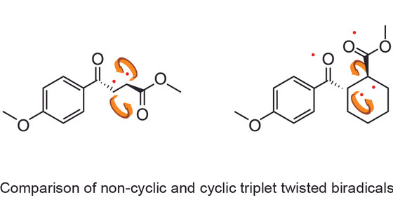 Sujan, Upul, Raj, Nayera, Jendai and Heidi congratulation on your paper on triplet biradicals being