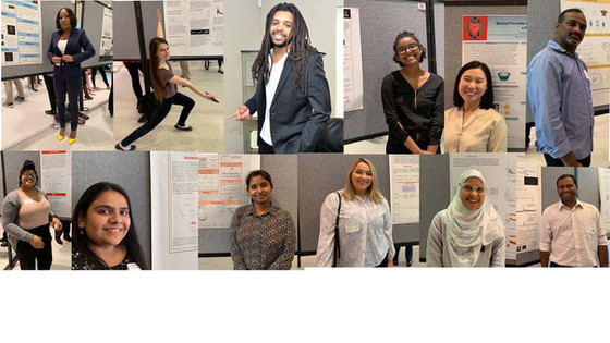 The group stormed the Oesper 2019 with their poster presentations