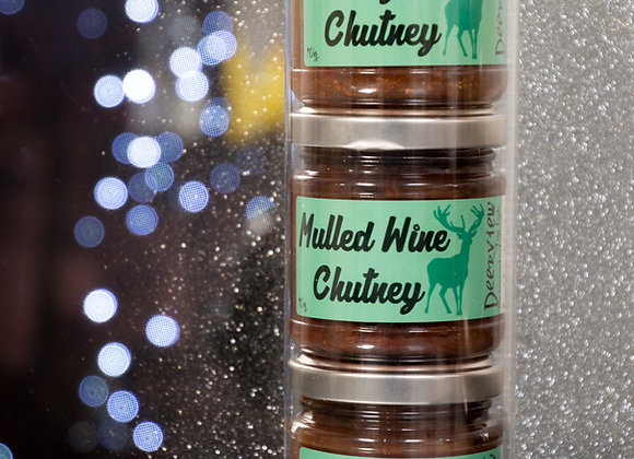 Gift Tube of Chutneys 3 x 90g