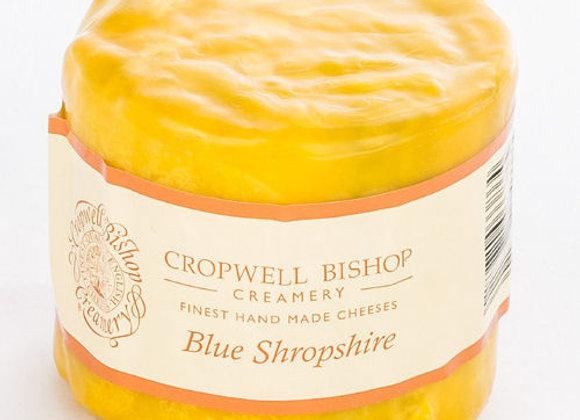 Waxed Shropshire Blue Truckle 225g