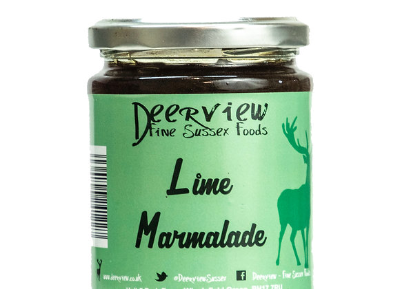 Lime Marmalade 320g Deerview Fine Foods