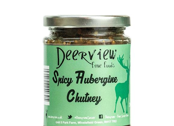 Spicy Aubergine Chutney 290g Deerview Fine Foods
