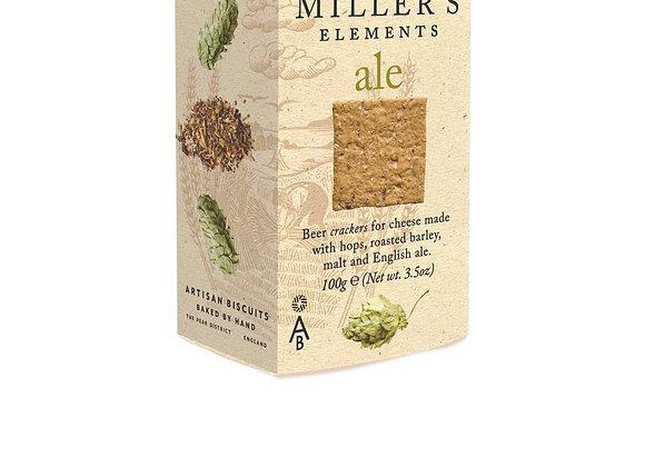 Miller's Elements Ale Crackers 100g