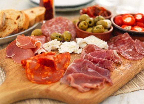 Tapas Selection (mixed Charcuterie) 150g