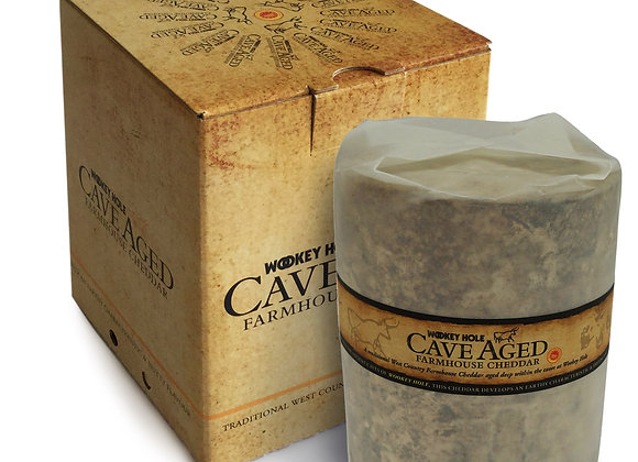 Cave Aged Wookey hole Large Truckle 1.8KG