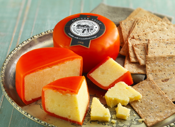 Ginger Spice 200g Snowdonia Cheese Company
