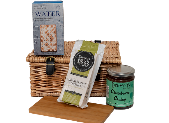 Delightfully Delectable Cheeseboard Hamper