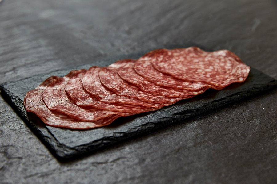 Deerview Fine Foods sliced milano charcuterie