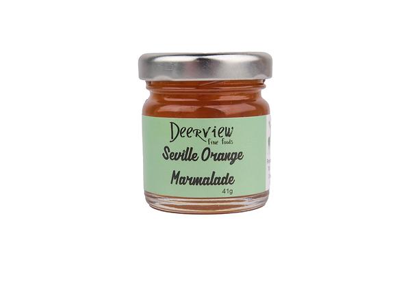 Mini Mini Seville Orange Marmalade 41g Deerview Fine Foods