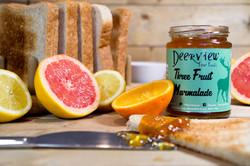 Deerview Fine Foods Three fruit Marmalade
