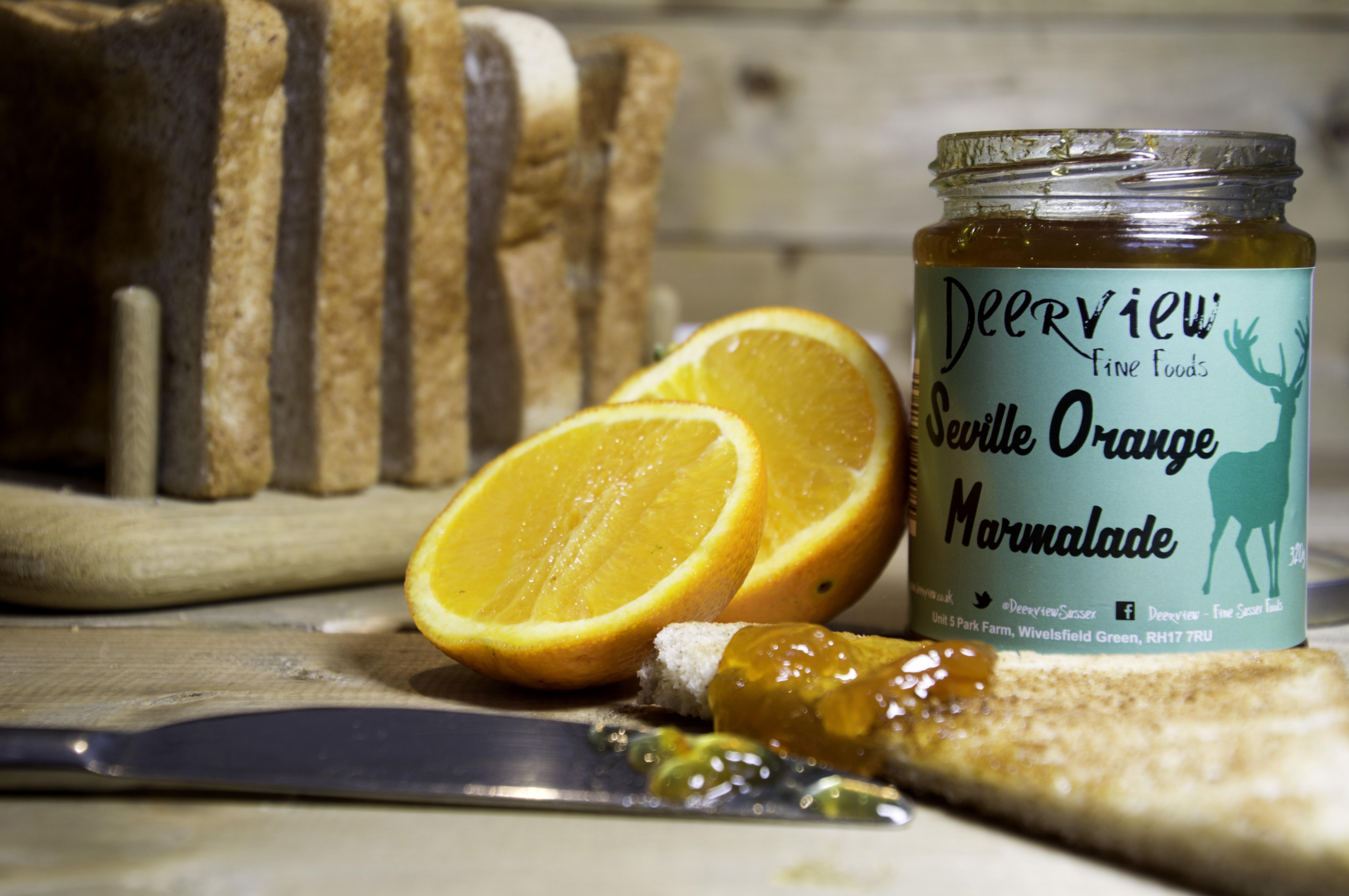 Deerview Fine Foods Seville Orange Marmalade