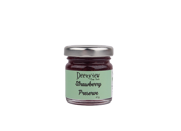 Mini Mini Strawberry Jam 41g Deerview Fine Foods