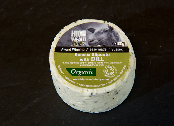 Slipcote Dill 100g Organic High Weald Dairy