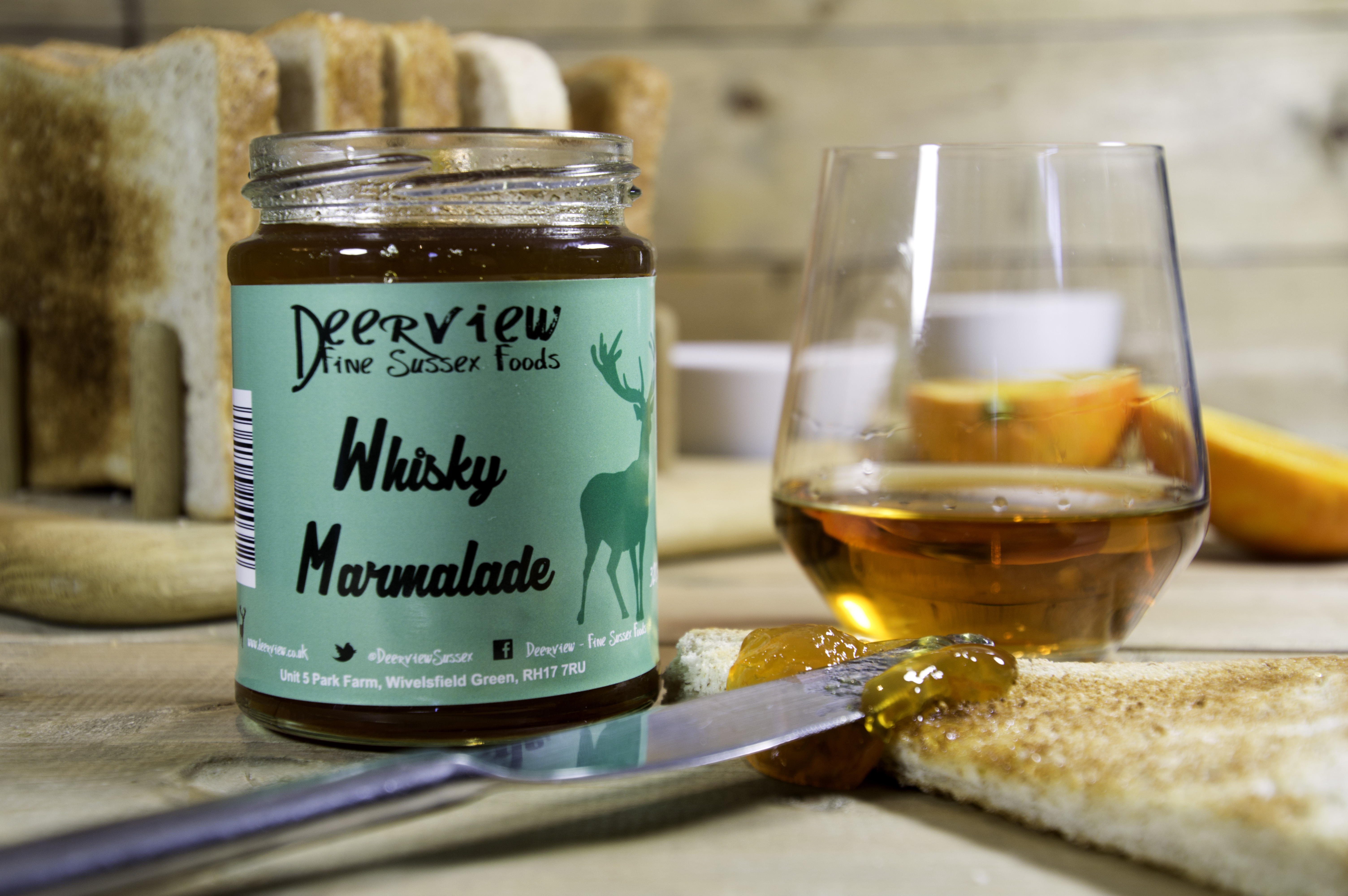 Deerview Fine Foods Whisky marmalade