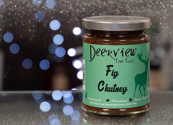 Fig Chutney 290g Deerview Fine Foods