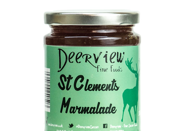 St Clements Marmalade 320g Deerview Fine Foods