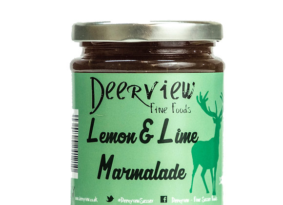 Lemon & Lime Marmalade 320g Deerview Fine Foods