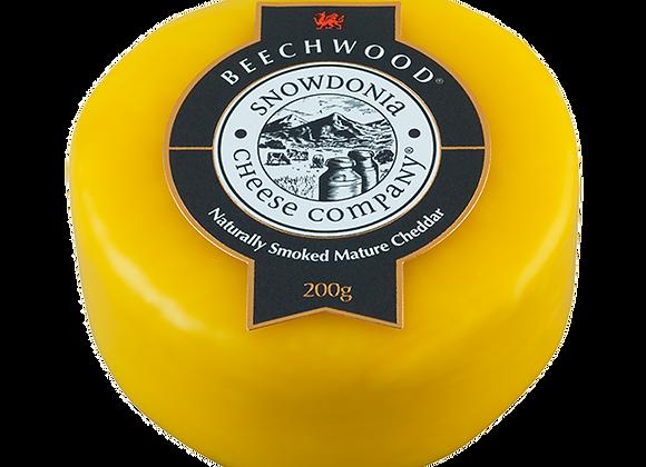 Beechwood 200g Oak Smoked Cheddar Snowdonia Cheese Company