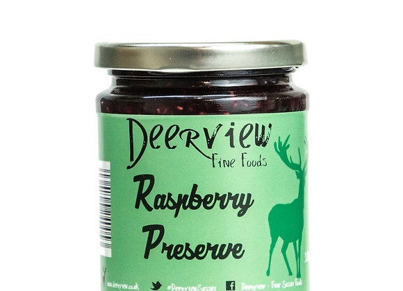 Raspberry Preserve 320g Deerview Fine Foods