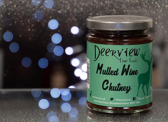 Mulled Wine Chutney 290g Deerview Fine Foods