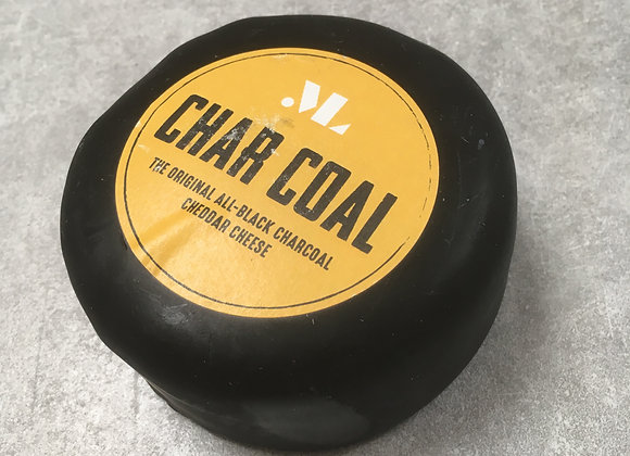 Charcoal Cheddar 200g Round