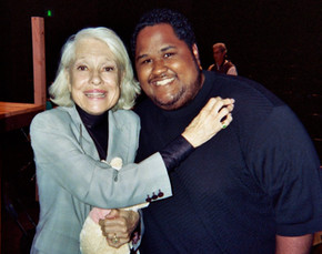 w/the late Carol Channing
