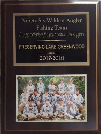 Ninety Six Angler Sponsorship