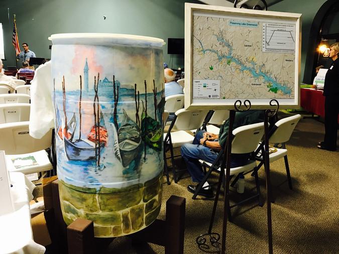 PLG Rain Barrel and Map Sale