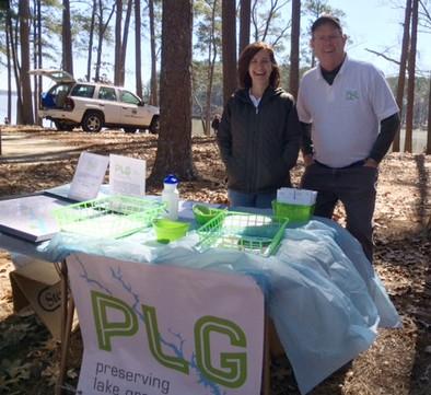 PLG at Lake Greenwood Cleanup