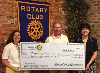 PLG receives Rotary Grant