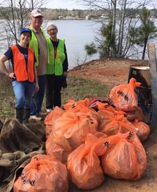 PLG Lake Cleanup