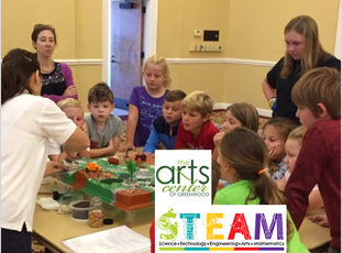 Preserving Lake Greenwood presents at STEAM Summer Camp at The Arts Center of Greenwood