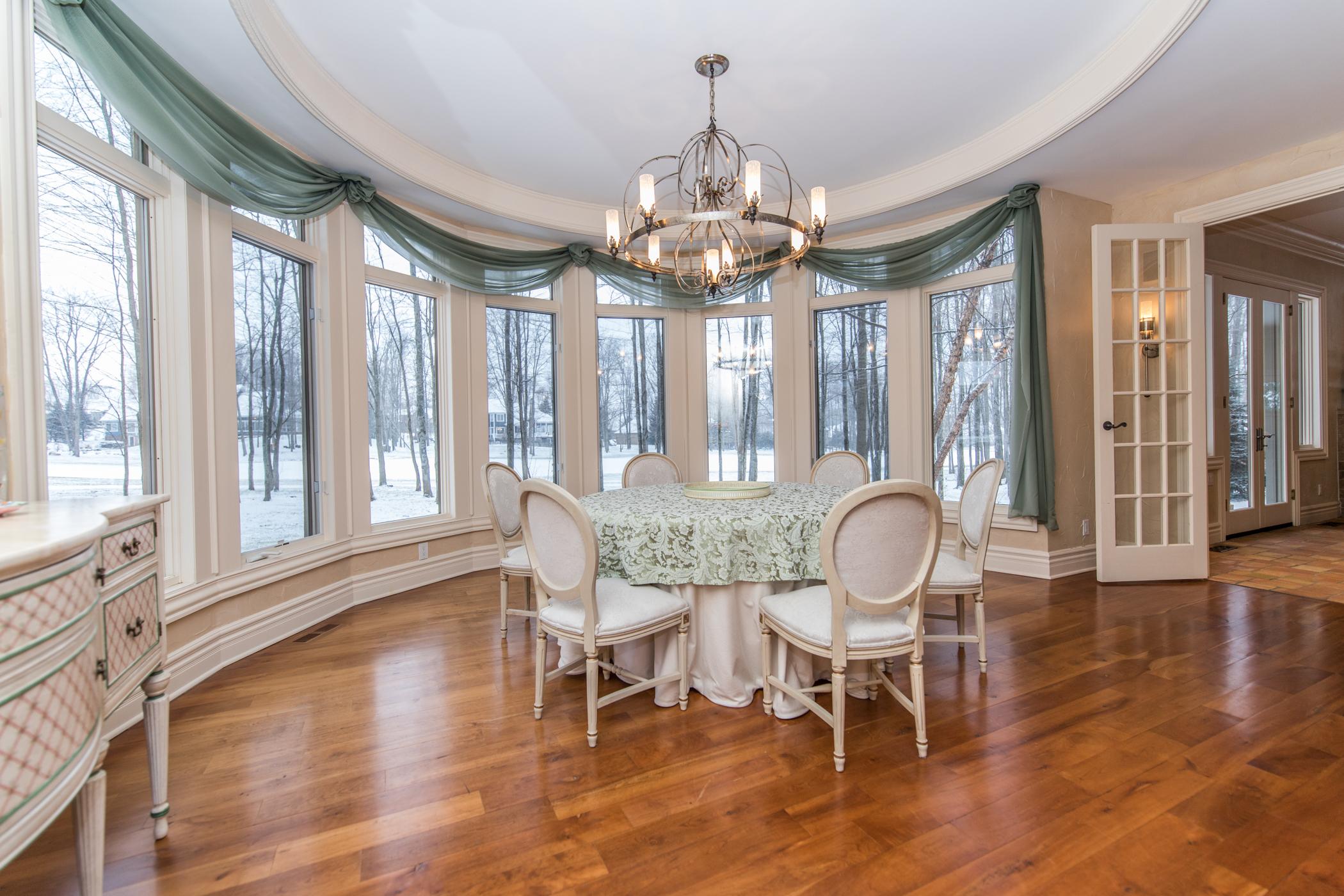Elegant formal dining room